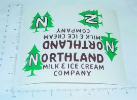 Steelcraft Northland Dairy Box Van Sticker Set