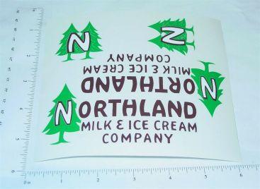 Steelcraft Northland Dairy Box Van Sticker Set Main Image