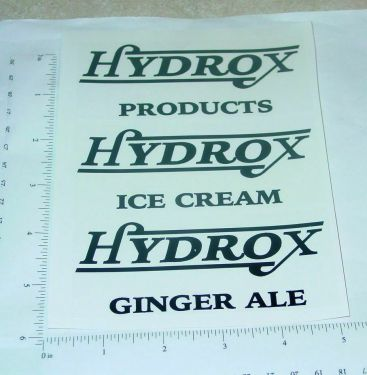 Steelcraft Hydrox Products Box Van Sticker Set Main Image