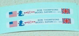 Matchbox #17F Bob Thompson Bus Stickers