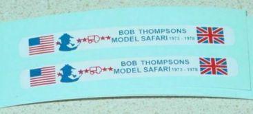Matchbox #17F Bob Thompson Bus Stickers Main Image