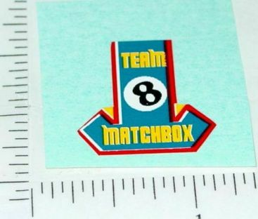 Superfast Matchbox #24 Team Matchbox Sticker Main Image
