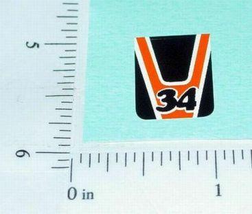Superfast Matchbox #34 Vantastic Sticker Main Image