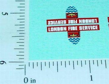 Superfast Matchbox #35 Fire Engine Sticker Main Image