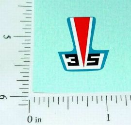 Superfast Matchbox #35 Fandango Sticker