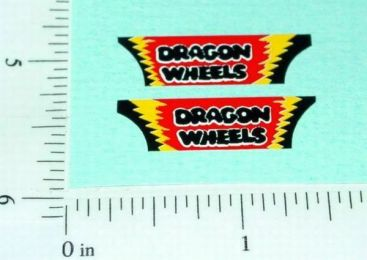 Superfast Matchbox #43 Dragon Wheels Sticker Main Image