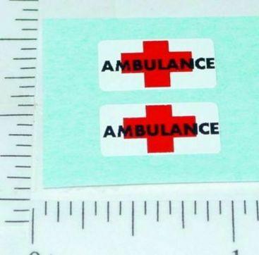 Pair Superfast Matchbox #46 Stretch Fetcha Stickers Main Image