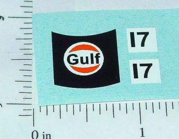 Matchbox #56 BMC Pininfarina Gulf Sticker Set Main Image