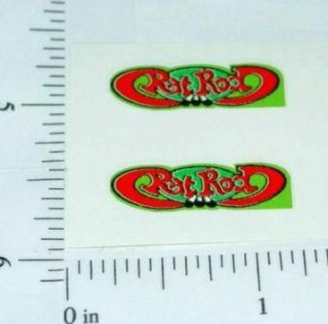 Matchbox #62E Superfast Rat Rod Cougar Stickers Main Image