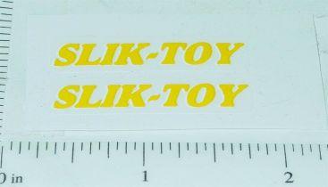 Slik Toy Dump Truck Door Sticker Set Main Image