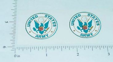 US Army Smith Miller Truck Door Stickers Main Image