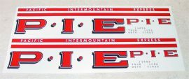 Smith Miller GMC P.I.E. Semi Truck Sticker Set