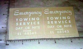 Smith Miller GMC Wrecker Tow Truck Stickers