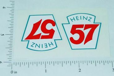 Smith Miller Heinz 57 Stake Truck Sticker Set Main Image