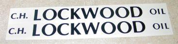 Smith Miller Lockwood Oil Tanker Sticker Set Main Image