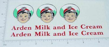Smith Miller Arden Milk Truck Sticker Set Main Image