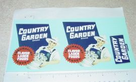 Smith Miller Country Garden Produce Sticker Set