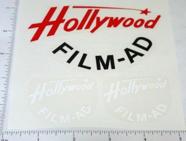 Smith Miller GMC Hollywood Film Sticker Set Main Image
