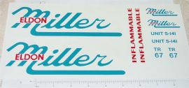 Smith Miller Eldon Miller Tanker Sticker Set