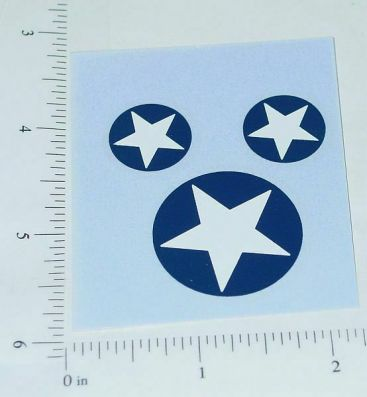 Smith Miller US Army Roof/Mudflap Star Stickers Main Image