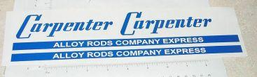 Smith Miller Carpenter Alloy Rods Sticker Set Main Image