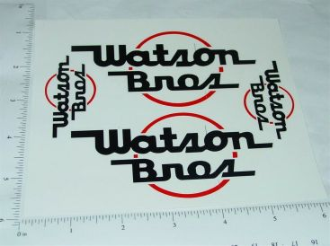 Smith Miller Watson Brothers GMC Van Sticker Set Main Image