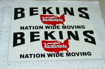 Smith Miller GMC/Chevy Bekins Stickers Main Image