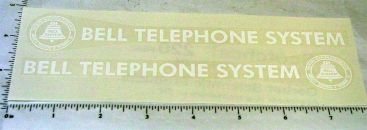 Smith Miller Mack Bell Telephone Sticker Set Main Image