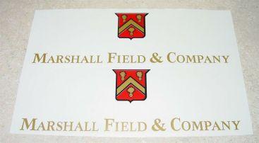 Smith Miller Marshall Field GMC Semi Truck Sticker Set Main Image