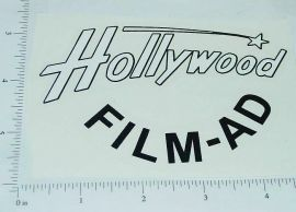 Smith Miller Mack Hollywood Film Ad Stickers