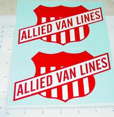 Smith Miller GMC Allied Van Lines Sticker Set Main Image