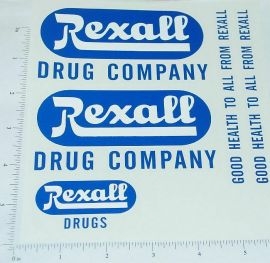 Smith Miller GMC Rexall Drugs Van Stickers