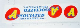 Smith Miller Associated Truck Lines Stickers