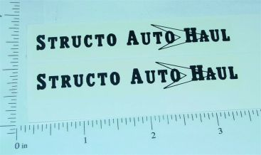 Structo Auto Haul Transporter Black Graphic Sticker Set Main Image