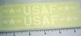 Structo US Air Force Box Van Stickers