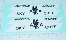 Structo AA Airlines Truck Sticker Set