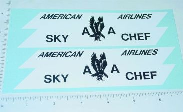 Structo AA Airlines Truck Sticker Set Main Image