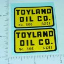 Structo Toyland Oil Tanker Truck Stickers Main Image