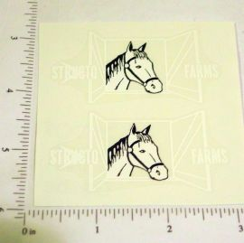 Structo Farms Horse Trailer Stickers