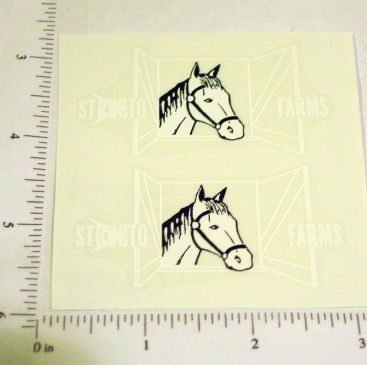 Structo Farms Horse Trailer Stickers Main Image
