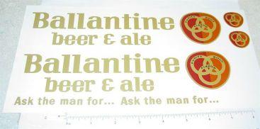 Structo Ballantine Beer Semi Sticker Set Main Image