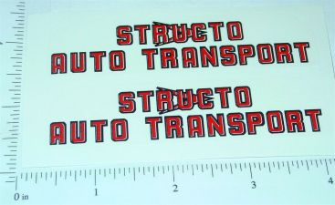 Structo Auto Transport (red/blk) Stickers Main Image