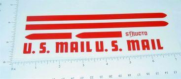 Structo US Mail Step Van Sticker Set Main Image