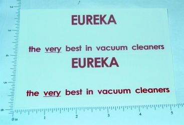 Structo Eureka Vacuums Semi Sticker Set Main Image