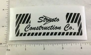 Structo Construction Company Replacement Sticker Main Image