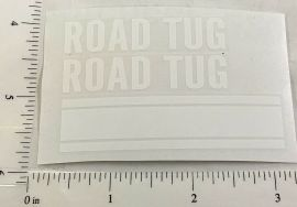 Structo Road Tug Wrecker/Tow Truck Replacement Stickers