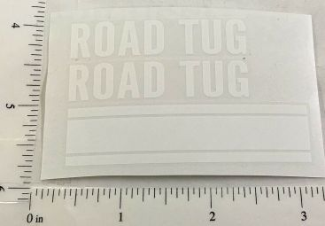 Structo Road Tug Wrecker/Tow Truck Replacement Stickers Main Image