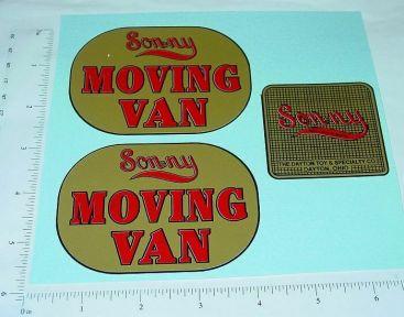Sonny Moving Van Replacement Sticker Set Main Image