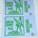 Tonka Green Giant Utility Truck Sticker Set Main Image