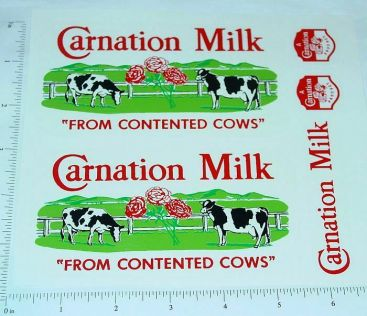 Tonka Carnation Milk Metro Van Sticker Set Main Image